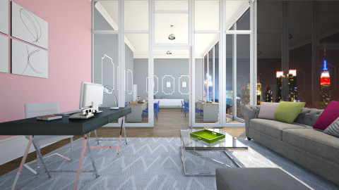 The New Pink - Office - by BillyBobJoeJohnPablo