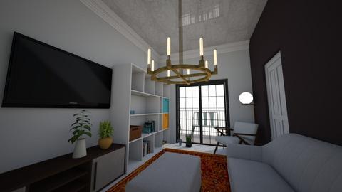 flat - Kitchen - by delela