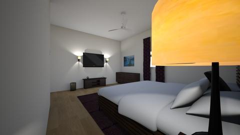 school thing project  - Rustic - Bedroom  - by boosingerrl