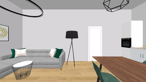 salon - Living room  - by Duzinka