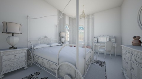 Quarto  - Bedroom  - by Natt Vasconcelos