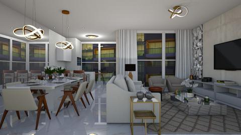 Mulari - Living room - by aletamahi
