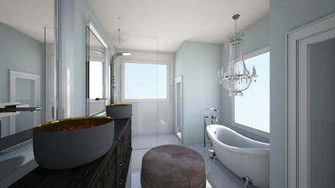 A Bath - Classic - Bathroom  - by TColl3