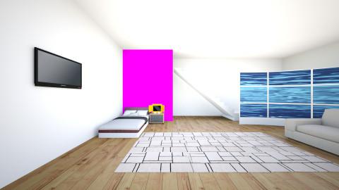 gamer room - Modern - Bedroom - by tizziana leivas
