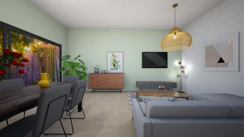 Living space_3 - Living room  - by Marion_