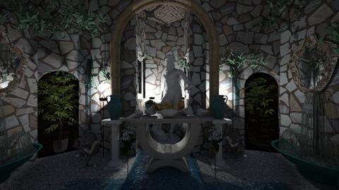 O naos tou doniti tis Gis - Classic - Bathroom  - by Wayfarer of Rither Fall
