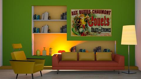 Colour - Eclectic - Living room  - by Tree Nut