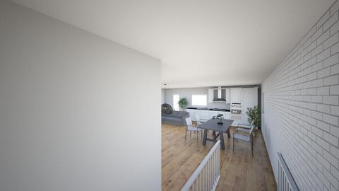 Plan poddasza 1 - Living room  - by gabrielasiemiaszko