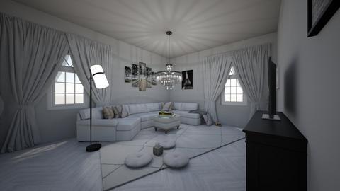 Love House - Living room - by Amina3B