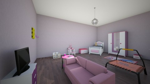girls bedroom - Modern - Kids room - by harry122