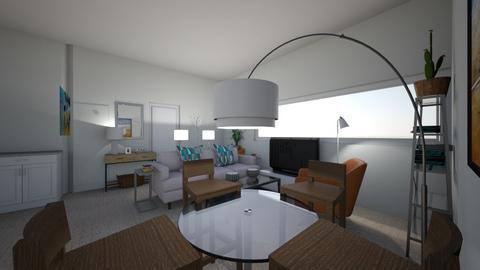 JGApartment - Living room  - by kayisraelite