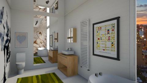Tennis bathroom  - Minimal - Bathroom  - by Nhezi