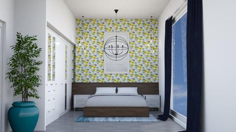 Modern Playful Bedroom - Modern - Bedroom  - by laurenpoisner