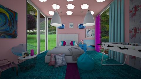 BluePink - Modern - Bedroom - by RollPinkEra