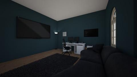 CalebsOffice22 - Modern - Office  - by hjdawson625