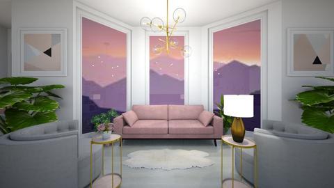 Pink_Purple_GirlsBedroom - Bedroom  - by light_of_grace