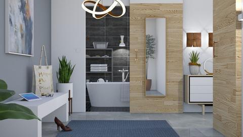 M_ Door - Bathroom  - by milyca8