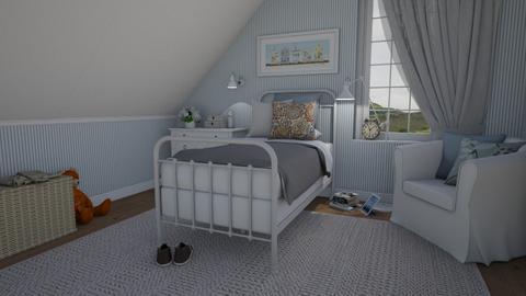 Attic chamber - Bedroom  - by Tuija