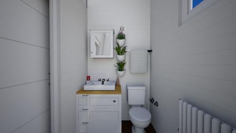 Bath2_Minimalist Tiny - Minimal - Bathroom  - by deleted_1599664823_fatihafitra