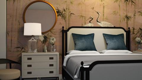 birds of paradise - Bedroom - by Ripley86