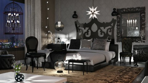 night lights - Glamour - Bedroom  - by anchajaya