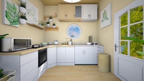 peaceful kitchen - Kitchen  - by O C E A N