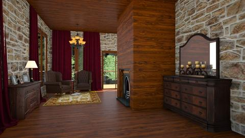 Millerfams country house - Country - Living room  - by NEVERQUITDESIGNIT