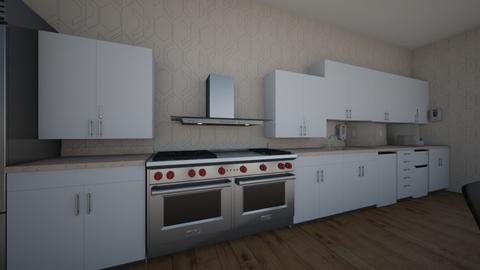 The kitchen dining room - Kitchen  - by MonPrzOli