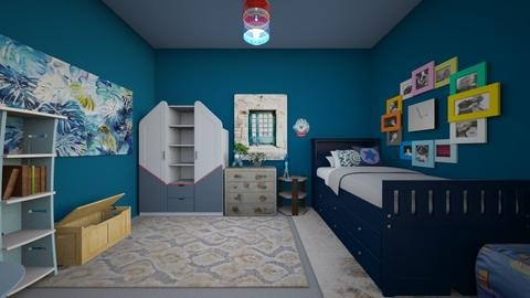 Blue Boy - Modern - Bedroom - by bvbstyle08