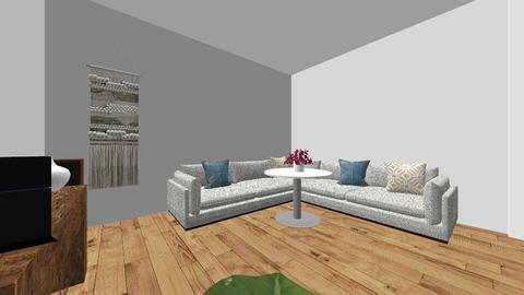 mi bb y yo - Living room  - by antosss