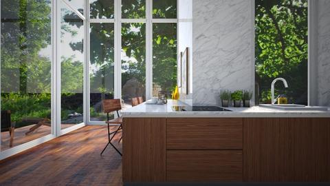 Forest Retreat - Kitchen  - by KylaTH