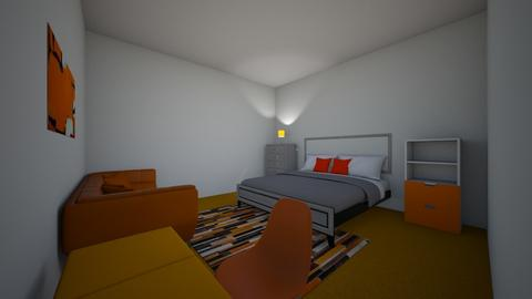 shain room  - Modern - Bedroom  - by smccu82