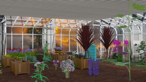 Greenhouse - Garden  - by Itzy