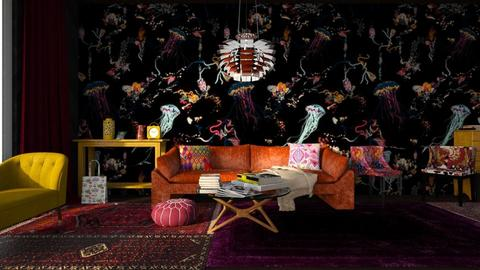 flash of sun - Eclectic - Living room  - by jjannnii