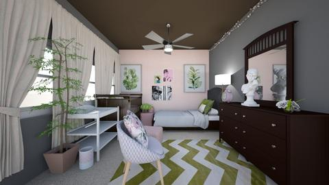 Girls Nursery Design 1 - Kids room  - by DesignerApprecia