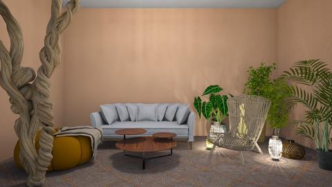 boho - Living room  - by crz
