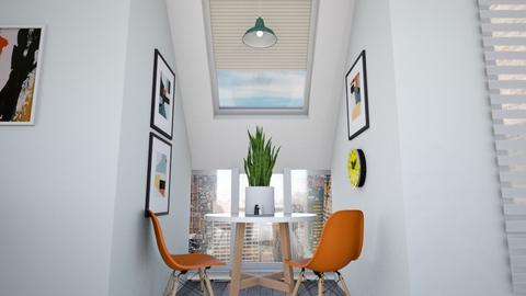 Calm Studio Kitchen View5 - Modern - Kitchen - by musicdesign22