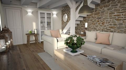 Soft rustic - Living room  - by Maaikevh