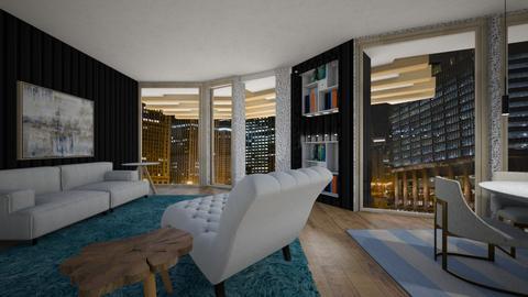 Glass - Living room  - by rosanebpf