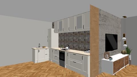 RAMAT GAN - Classic - Kitchen - by ne1b