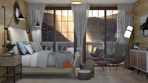 Magnolia house - Bedroom - by aletamahi