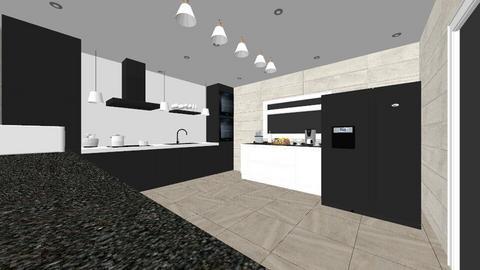 Leslie - Modern - Kitchen  - by LHSHousing