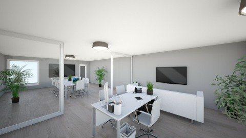 My office photo 3 - Modern - Office - by jakubm87