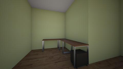 Attic Corner - Office  - by Woolchin