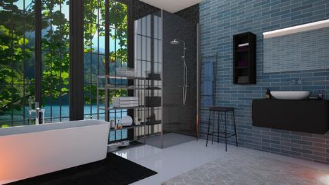 Nautical Bathroom - Modern - Bathroom  - by Dragonets of Destiny