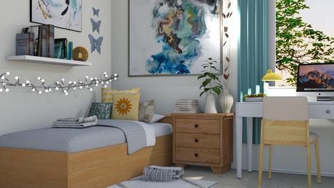 Student Dorm - Modern - Bedroom  - by millerfam