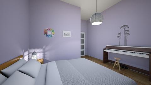 Lavender - Classic - Bedroom  - by Twerka