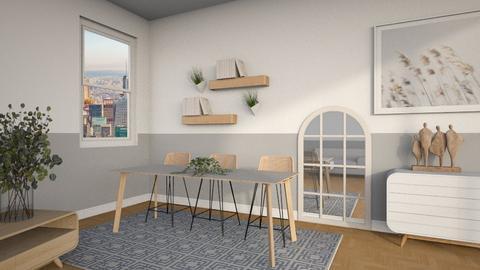 s c a n d i - Modern - Dining room  - by kanrxji