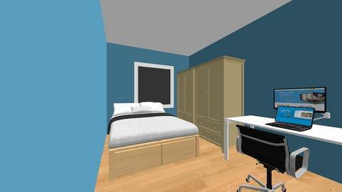 moj pokoj 2 - Bedroom  - by Piotr_196