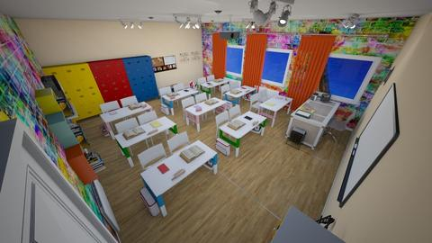 school - Modern - Office - by Stavroula Chatzina